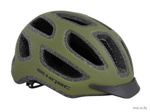 """Шлем велосипедный """"CityQ"""" (M; зелёный; арт. Q090323M) — фото, картинка"""