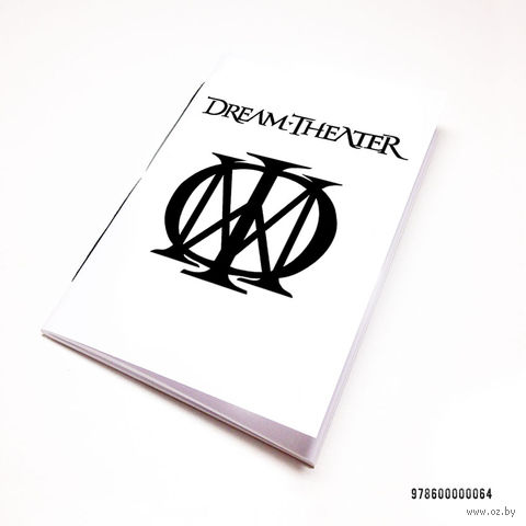 """Блокнот """"Dream Theater"""" (А7; арт. 064) — фото, картинка"""