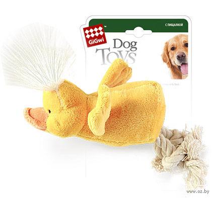 """Игрушка для собак """"Утка"""" (15 см)"""