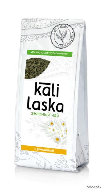 """Чай зеленый листовой """"Kali Laska. С ромашкой"""" (100 г) — фото, картинка"""