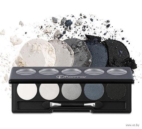"Палетка теней для век ""Color Palette Eye Shadow"" (тон: 005, black dust) — фото, картинка"