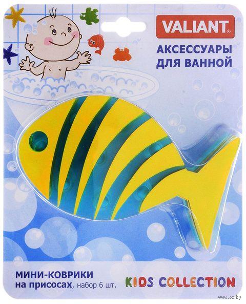 """Набор игрушек для купания """"Рыба полосатая"""" (6 шт.) — фото, картинка"""