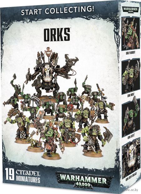 Warhammer 40.000. Orks. Start Collecting (70-50) — фото, картинка