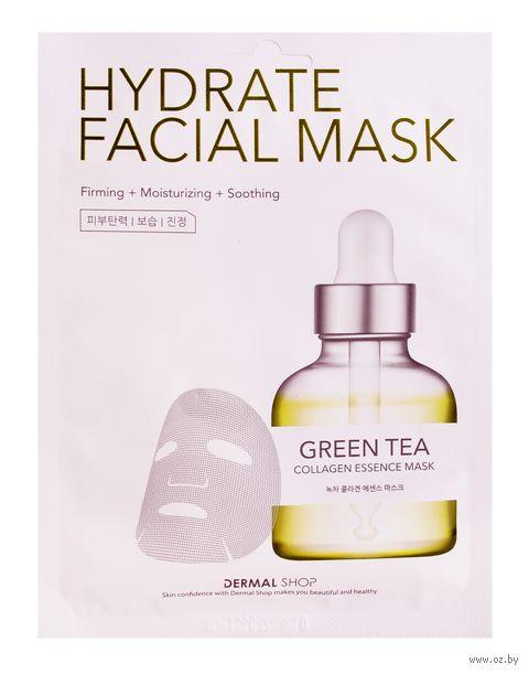 "Тканевая маска для лица ""Green Tea"" (25 г) — фото, картинка"