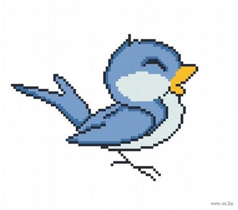 "Вышивка крестом ""Птичка"" (220x220 мм) — фото, картинка"