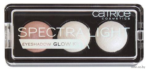 """Палетка теней для век """"Spectra Light Eyeshadow Glow Kit"""" (тон: 010) — фото, картинка"""
