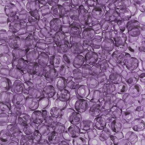 Бисер прозрачный №01122 (фиолетовый; 10/0) — фото, картинка