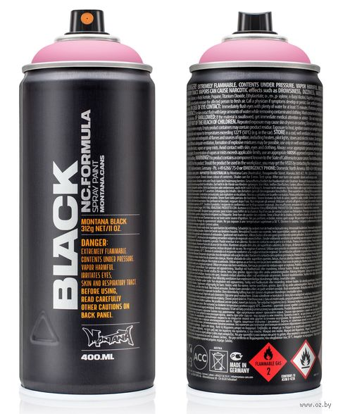 "Краска аэрозольная ""Black. Pink Cadillac"" (розовая; 400 мл) — фото, картинка"