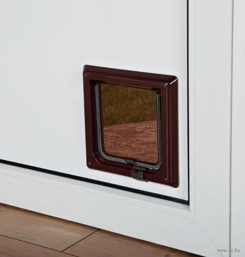"""Откидная дверца для кошки """"TRIXIE"""" (коричневый, арт. 38603)"""