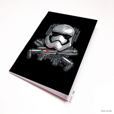 """Блокнот белый """"Звездные войны. Штурмовик"""" А6 (240)"""