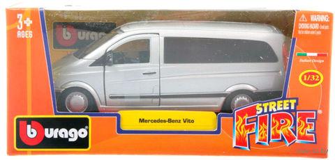 """Модель машины """"Bburago. Mercedes Benz Vito"""" (масштаб: 1/32) — фото, картинка"""