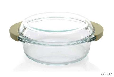 Кастрюля стеклянная с крышкой 0,7 л — фото, картинка