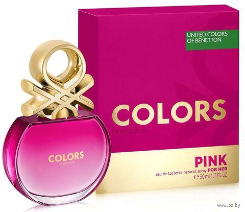 """Туалетная вода для женщин """"Pink"""" (50 мл) — фото, картинка"""