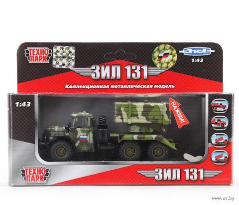 """Модель машины """"ЗИЛ 131. Вооруженные силы"""" (масштаб: 1/43; арт. CT10-001-M-2)"""