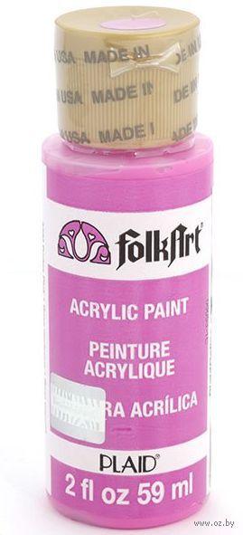 "Краска акриловая ""FolkArt. Acrylic Paint"" (розовый декупаж, 59 мл; арт. PLD-02390)"