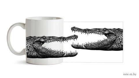 """Кружка """"Крокодилы"""" (750)"""