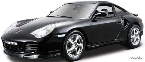 "Модель машины ""Bburago. Porsche 911 Turbo"" (масштаб: 1/18)"