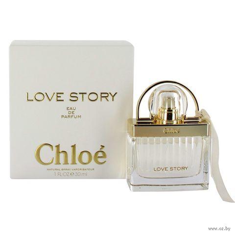 "Парфюмерная вода для женщин Chloe ""Love Story"" (30 мл)"