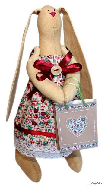 "Набор для шитья из ткани ""Кукла. Зайка Агата"" — фото, картинка"