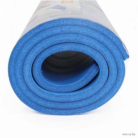 Коврик для йоги (180х62х1,5 см; арт. MBR-1,5) — фото, картинка