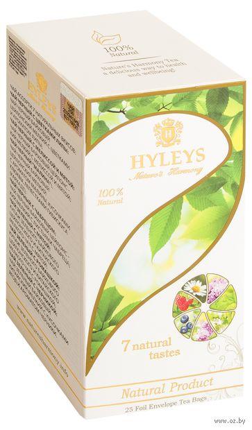 """Чай """"Hyleys. Гармония природы"""" (25 пакетиков; 7 вкусов) — фото, картинка"""