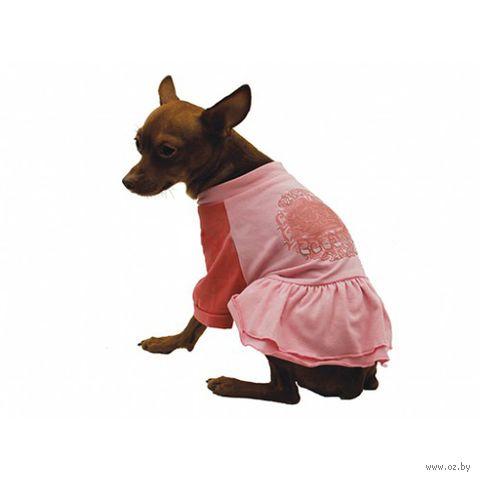 """Платье """"Pink"""" (30 см; розовое) — фото, картинка"""