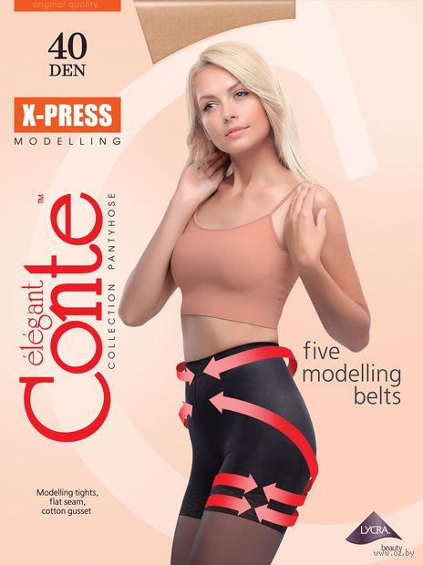 "Колготки женские корректирующие ""Conte. X-Press 40"" — фото, картинка"