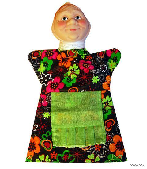 "Мягкая игрушка на руку ""Бабка"" (27 см) — фото, картинка"