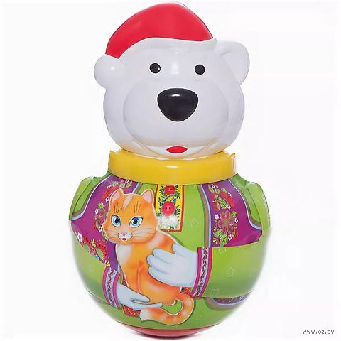 "Неваляшка малая ""Белый медведь Борис"" (пакет)"