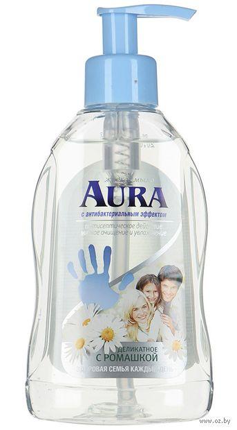 """Жидкое мыло """"Aura. С ромашкой"""" (300 мл) — фото, картинка"""