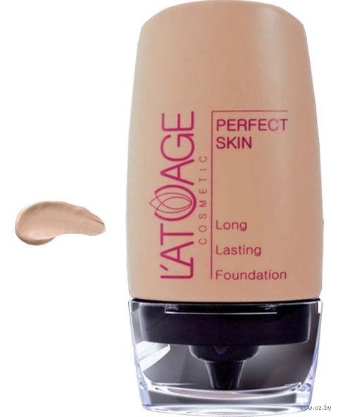 """Тональный крем для лица """"Perfect Skin"""" (тон: 103, натуральный; 30 г)"""