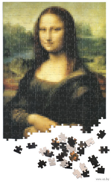 """Пазл """"Пикселюс. Мона Лиза"""" (260 элементов) — фото, картинка"""