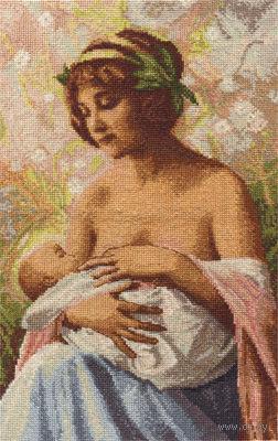 """Вышивка крестом """"Материнская любовь"""""""