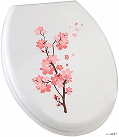 Сиденье для унитаза (сакура) — фото, картинка