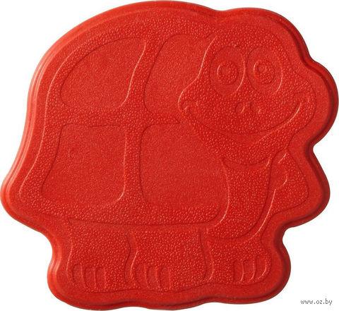 """Коврик для ванной резиновый """"Черепашка"""" (6 шт.; 13х11 см; разноцветный) — фото, картинка"""
