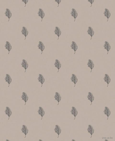 """Простыня хлопковая на резинке """"Перья"""" (180х200 см) — фото, картинка"""