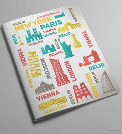 """Обложка на паспорт """"Сapitals"""" — фото, картинка"""