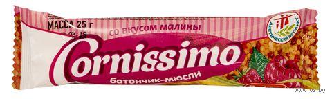"Батончик-мюсли ""Cornissimo. Малина"" (25 г) — фото, картинка"