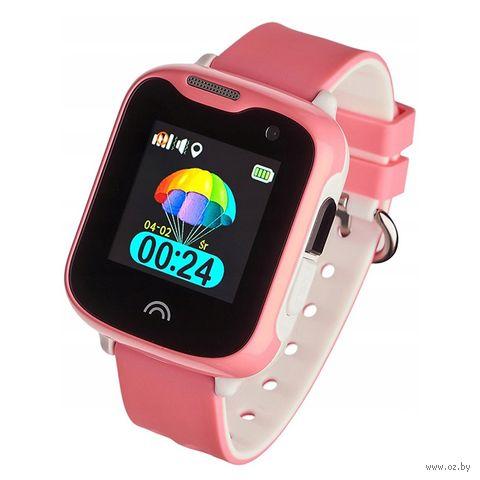 Умные часы Wonlex KT05 (розовые) — фото, картинка