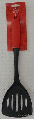Лопатка кухонная пластмассовая термостойкая (345 мм; арт. KL31A10-A16)