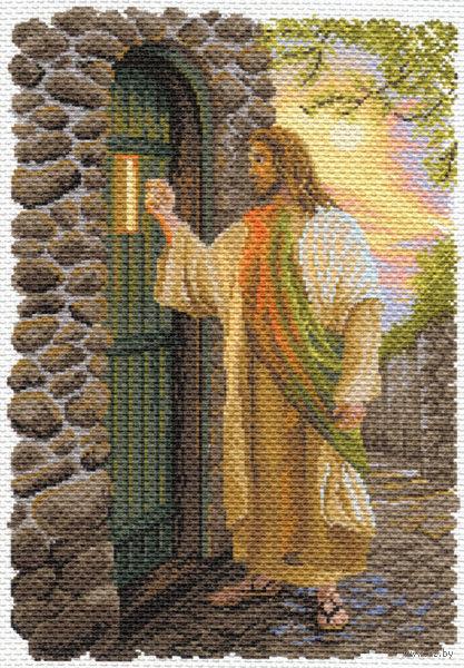 """Канва с нанесенным рисунком """"Иисус"""""""