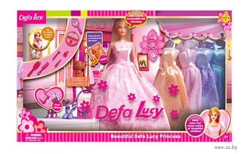 """Кукла """"Девушка с нарядами"""""""