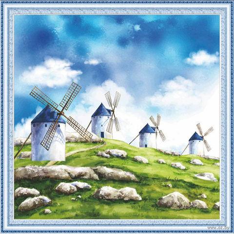 """Алмазная вышивка-мозаика """"Ветряные мельницы"""""""