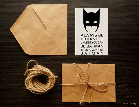 "Открытка ""Бэтмэн"" (арт. 2) — фото, картинка"