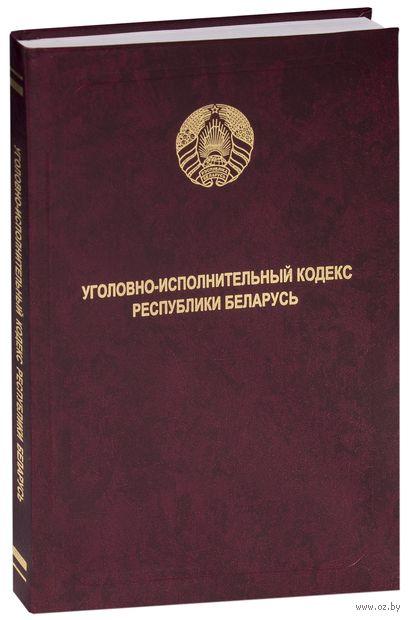 Уголовно-исполнительный кодекс Республики Беларусь — фото, картинка