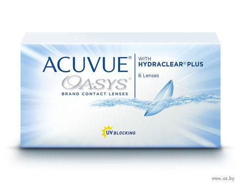 """Контактные линзы """"Acuvue Oasys"""" (1 линза; -6,0 дптр) — фото, картинка"""