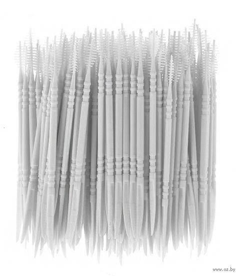 Набор зубочисток пластмассовых (50 шт.) — фото, картинка