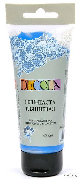 """Гель-паста """"Decola"""" (синяя; 100 мл) — фото, картинка"""