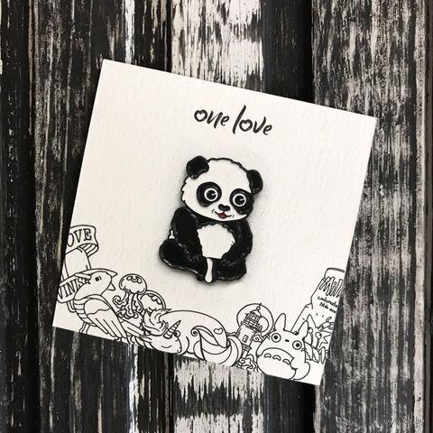 """Значок-пин """"Панда"""" — фото, картинка"""