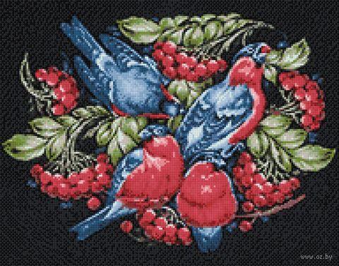 """Алмазная вышивка-мозаика """"Русские узоры"""" (380х480 мм) — фото, картинка"""